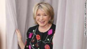 Martha Stewart partners with Canopy Growth to develp CBD products including hemp-derived CBD.