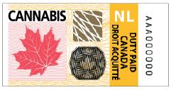 Newfoundland and Labrador's excise stamp