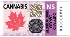 Nova Scotia Excise Stamp