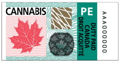 PEI Excise Stamp