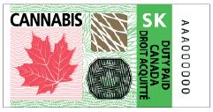 Saskatchewan Excise Stamp