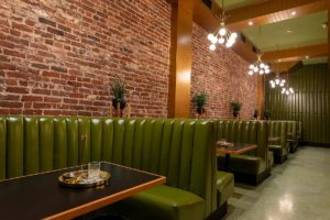 Cannabis as alcohol alternative: Moe Greens in San Francisco offers a chic, adult experience.