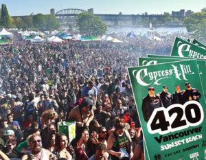 Vancouver 4/20 celebrates legalization, but protests continuing stigma.